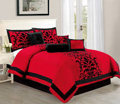 Red Bedroom Comforter Set Bedroom Bedding Sets Queen Quilt Covers Full Size Comforter