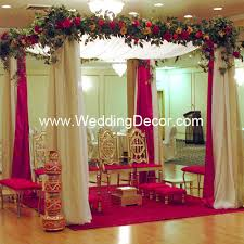 Bengali Mandap Decorations Wedding Mandap Toronto Hindu Wedding Decoration For Indian