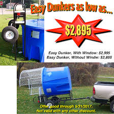 dunk tank for sale dunk tank sale 2 days left equipment center moonwalk forum