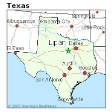 lipan map best places to live in lipan