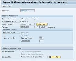sap t code description table how to create transaction code for table maintenance generator sap