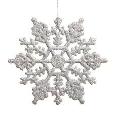 christmas silver decorations amazon com