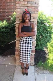 target tuesday who what wear checkered midi skirt