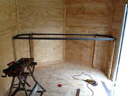 V Nose Enclosed Trailer Cabinets by Brought An Enclosed Trailer Need Advice On Fitting Out The