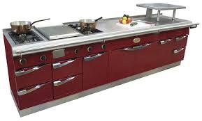 fourneaux de cuisine cuisine en acier modulaire professionnelle oceane capic