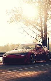 nissan 350z wallpaper road nissan 350z tuning mobile wallpaper mobiles wall