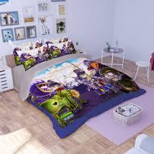 plants vs zombies bedding set home textile set of bed linen king