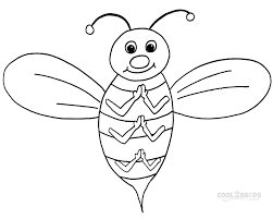 printable bumble bee coloring pages kids cool2bkids