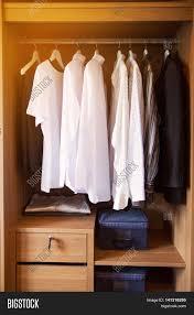 clothes hang on shelf designer image u0026 photo bigstock