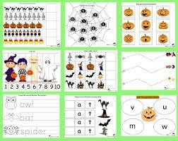 free halloween printable pack toddlers u0026 prek totschooling
