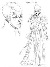 star wars friday the old republic character sketches blog