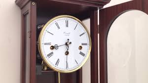 Hermle Grandfather Clock Comitti Of London Fhs Hermle 1999 Westminster Chime Wall Clock