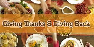 thanksgiving church outreach ideas