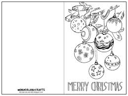 christmas card templates colour template idea