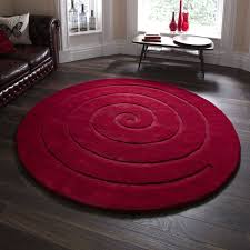 Modern Red Rug by Rug Round Red Rugs Wuqiang Co