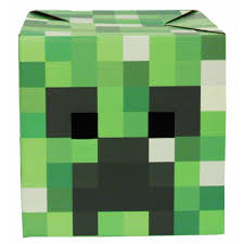 minecraft wrapping paper creeper minecraft box activity toys at the works