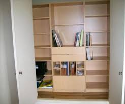 in closet storage organize office closet office 10 steps to a more organized or