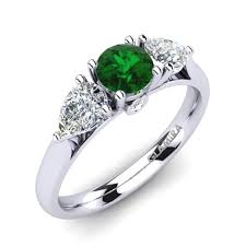 emerald rings uk buy emerald engagement rings glamira co uk