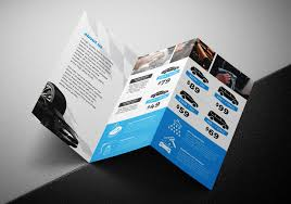 2 fold brochure template car wash tri fold brochure template for photoshop illustrator