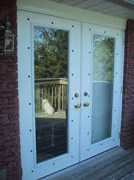 Door Knobs Exterior by Installing Exterior Window Screens On French Doors
