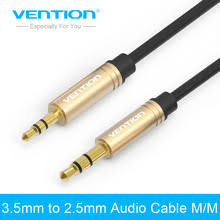 aliexpress buy hot gold plated 5mm 3 5mm tungsten 2 5mm headphone cable reviews online shopping 2 5mm headphone