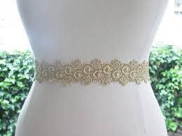 metallic gold ribbon metallic gold wedding sash bridesmaid sash gold bridal belt