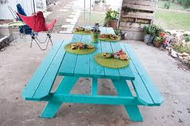 painted picnic table designs google search for the home