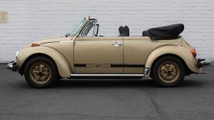 convertible volkswagen 2016 1 of 300 sun bugs produced by volkswagen in 1974 sold at mecum