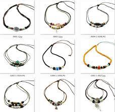 braided hemp necklace images Bulk surfer tribal woven hemp leather necklace beaded anchor alloy jpg