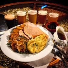 kitchen brewhouse and menu thanksgiving dinner american craft