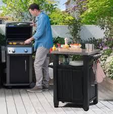 outdoor cooking prep table outdoor kitchen prep table unique amazon keter unity indoor outdoor