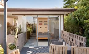 Pool House With Bathroom Majestic Mid Century Modern With Pool In Glassell Park Hills U2014 The