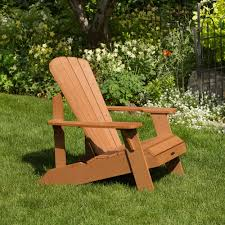 Recycled Plastic Adirondack Chairs Lifetime Recycled Plastic Adirondack Chair Walmart Com