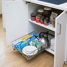 kitchen cabinet pull out storage racks kitchen storage rack storage baskets rack chromed metal