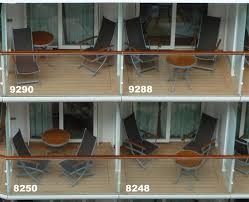 balcony size on solstice cruise critic message board forums