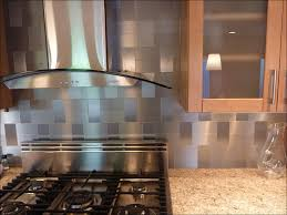 kitchen stainless steel wall tiles range hood backsplash
