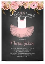 ballerina baby shower invitations pink ballerina baby shower pink tutu