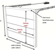 one car garage size garage door wsb framing door garage height measuring or fixer
