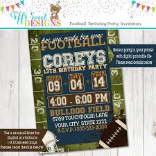 football party football party invitation tailgate party