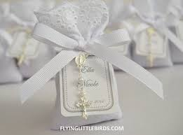 rosary favors for baptism communion or baptism favors lavender sachet favors with mini