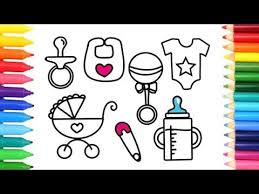 draw accessories baby drawing kids