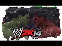 hulk red hulk wwe 2k14 quit match ai ai