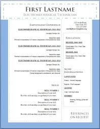 Free Resume Template For Word Free Resume Templates Charming Best Template Word Free Resume