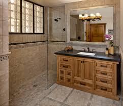 santa barbara glass block windows bathroom asian with crystal