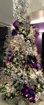 baby nursery appealing christmas tree with silver decorations