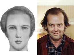 artist uses police sketch software to show what horror characters