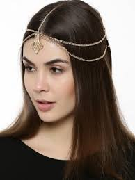 hair accessories online india blueberry multi chain hair accessories dazzle accessories