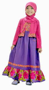 Baju Anak India tips mudah memilih model baju muslim anak perempuan and
