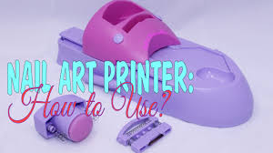 nail art printer how to use youtube