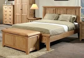 Build Wooden Bed Frame Build Bed Frame Installing The Rails Build King Bed Frame Plans
